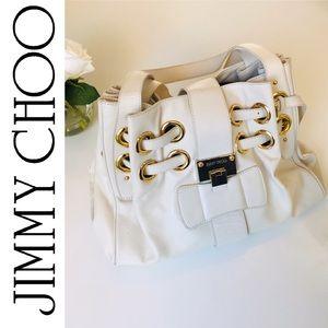 Jimmy Choo Ramona Handbag White